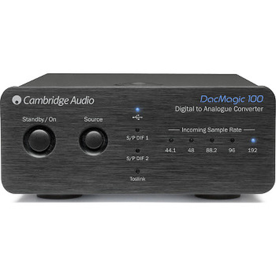 Dac Audio et streaming Cambridge DAC MAGIC 100 Noir