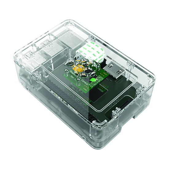 Raspberry Pi Raspberry Pi Boitier Transparent Raspberry Pi 3 B et Pi 2 B