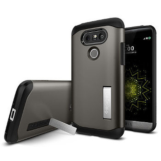 Coque et housse Spigen Coque Slim Armor (noir) - LG G5