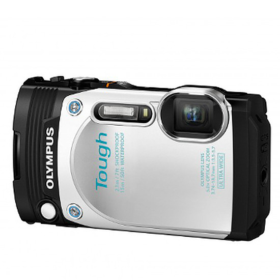 Appareil photo compact ou bridge Olympus Tough TG-870 Blanc