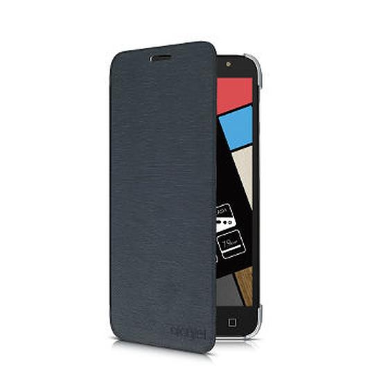 Coque et housse Alcatel Mobile Housse Aero Flipcase (noir) - Alcatel Pop 4