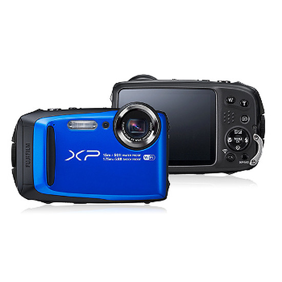 Appareil photo compact ou bridge Fujifilm Finepix XP90 Bleu