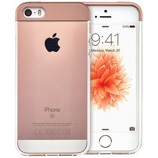 Coque et housse Qdos Coque Topper (or rose) - iPhone SE
