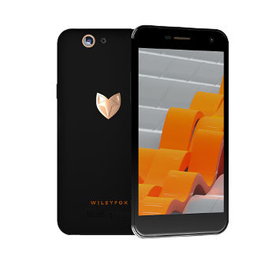 Smartphone et téléphone mobile Wileyfox Spark + (noir)