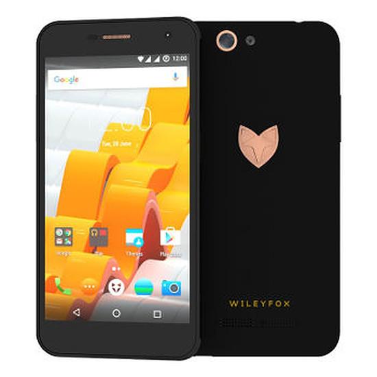 Smartphone et téléphone mobile Wileyfox Spark X (noir)