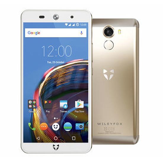Smartphone et téléphone mobile Wileyfox Swift 2 (or)