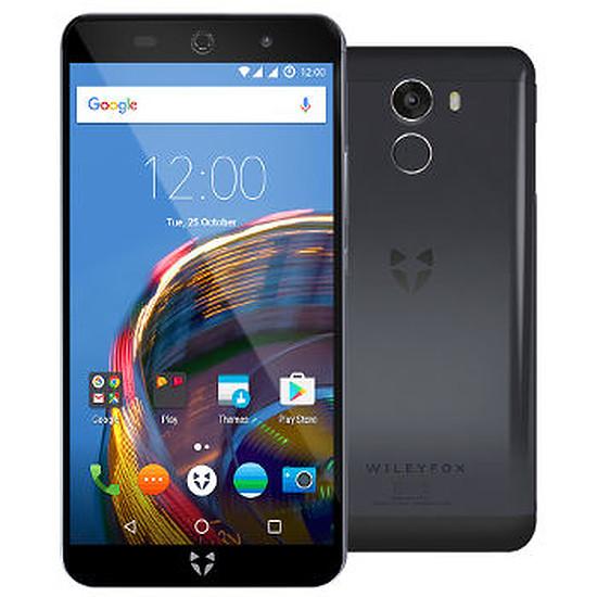 Smartphone et téléphone mobile Wileyfox Swift 2 Plus (bleu nuit)