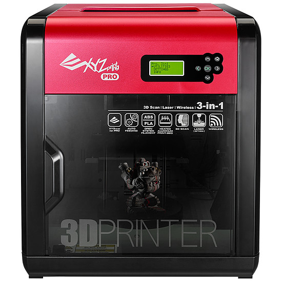 Imprimante 3D XYZprinting da Vinci 1.0 Pro 3 en 1
