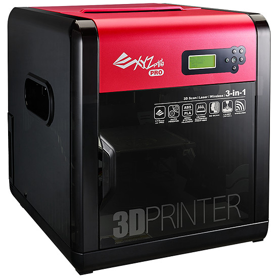 Imprimante 3D XYZprinting da Vinci 1.0 Pro 3 en 1 - Autre vue