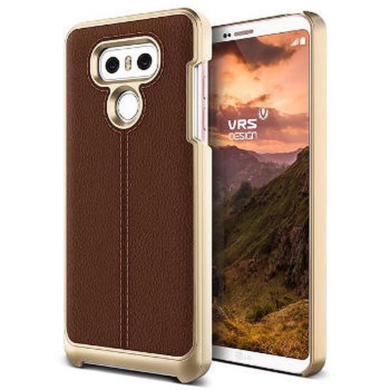 Coque et housse VRS Design Coque Simpli Mod (marron) - LG G6
