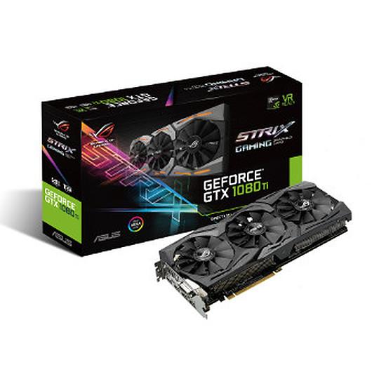 Carte graphique Asus GeForce GTX 1080 Ti ROG STRIX OC - 11 Go