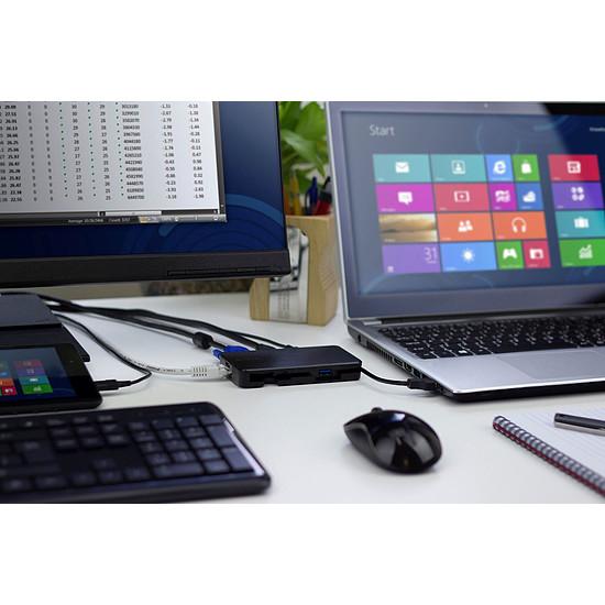 Station d'accueil PC portable Targus Station d'accueil de voyage multi-écran USB 3.0 - Autre vue
