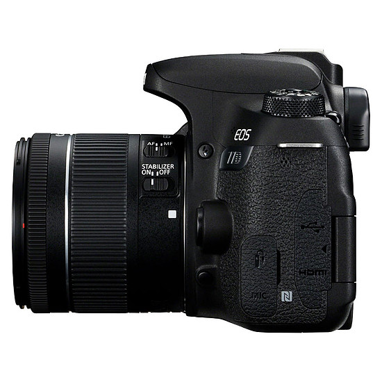 Appareil photo Reflex Canon EOS 77D + 18-55 IS STM - Autre vue