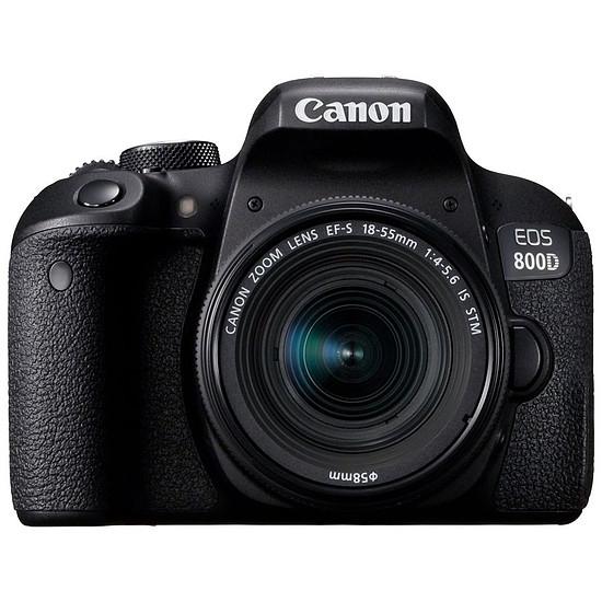 Appareil photo Reflex Canon EOS 800D + 18-55 IS STM