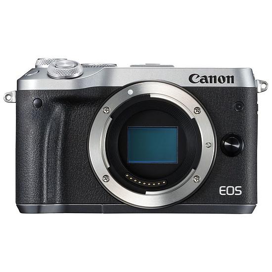 Appareil photo hybride Canon EOS M6 Argent (boitier nu)