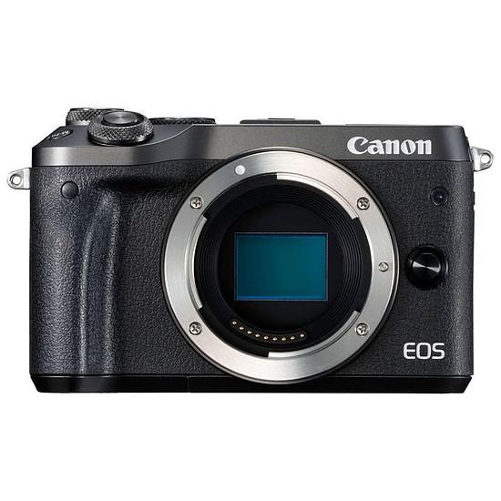 Appareil photo hybride Canon EOS M6 Noir (boitier nu)