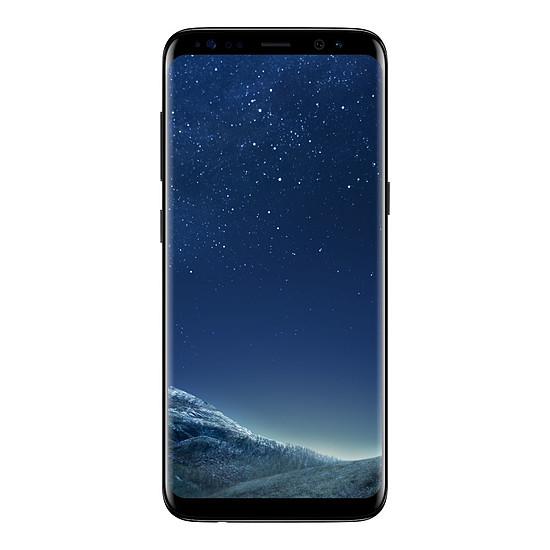 Smartphone et téléphone mobile Samsung Galaxy S8 (noir carbone) - 4 Go - 64 Go