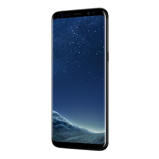 Smartphone et téléphone mobile Samsung Galaxy S8 (noir carbone) - 4 Go - 64 Go - Autre vue