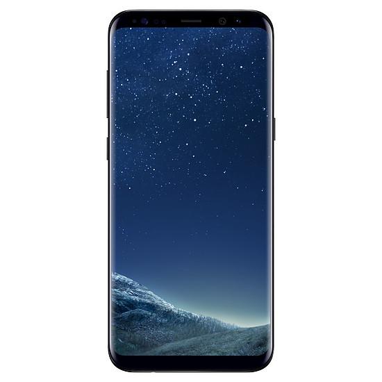 Smartphone et téléphone mobile Samsung Galaxy S8+ (noir carbone) - 4 Go - 64 Go