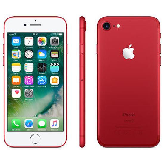 Smartphone et téléphone mobile Apple iPhone 7 (rouge special edition) - 128 Go