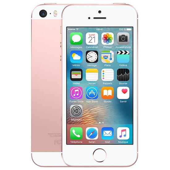 Smartphone et téléphone mobile Apple iPhone SE (or rose) - 32 Go