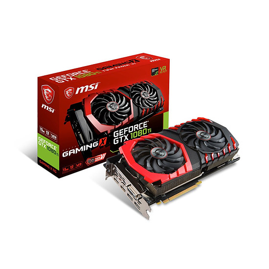 Carte graphique MSI GeForce GTX 1080 Ti Gaming X - 11 Go
