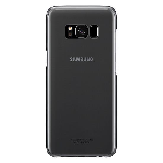 Coque et housse Samsung Coque fine (transparente noir) - Galaxy S8