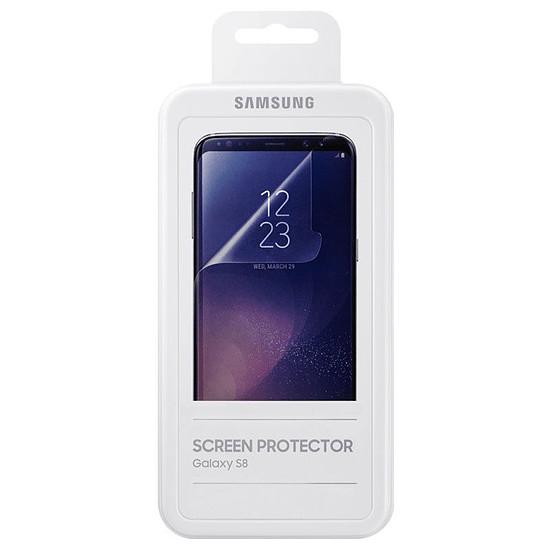 Protection d'écran Samsung Film de protection transparent - Galaxy S8