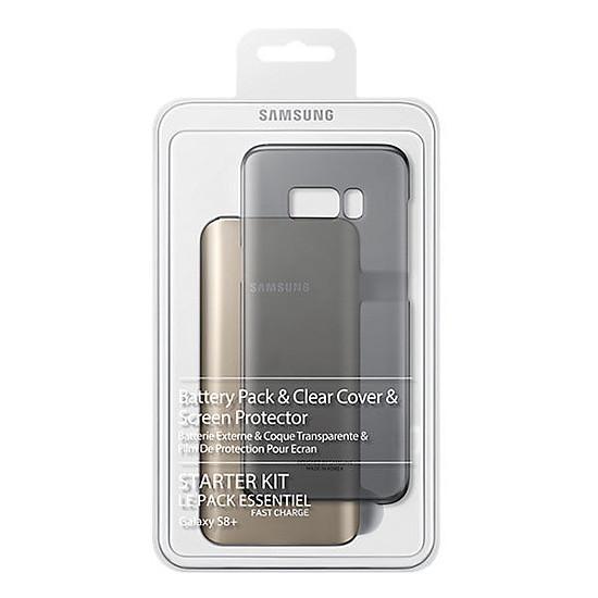 Coque et housse Samsung Coffret Essentiel pour Samsung Galaxy S8+