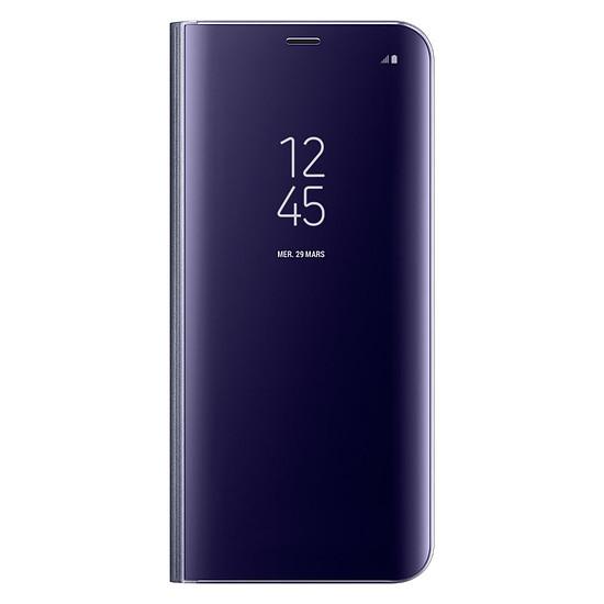 Coque et housse Samsung Clear view cover (lavande) - Samsung Galaxy S8+