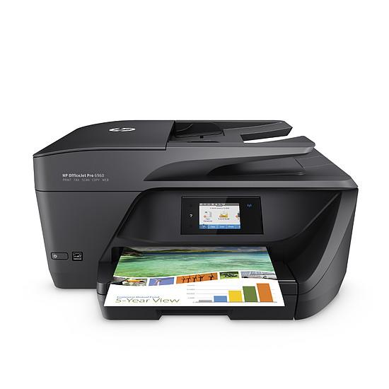 Imprimante multifonction HP OfficeJet Pro 6960 + 903 XL 3 couleurs & noir
