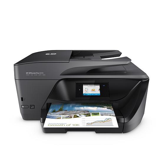 Imprimante multifonction HP OfficeJet Pro 6970 + 903 XL 3 couleurs & noir