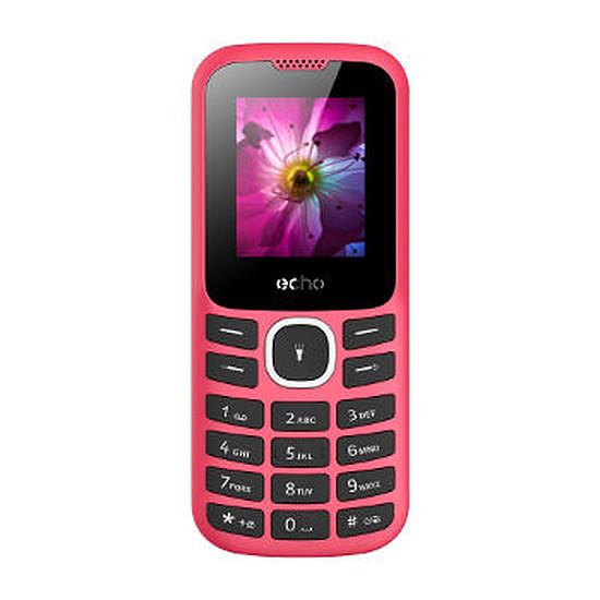 Smartphone et téléphone mobile Echo First 2 (rouge)