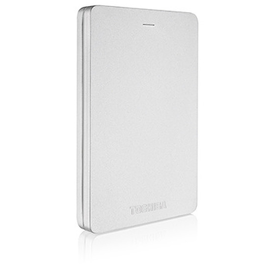 Disque dur externe Toshiba Canvio ALU - 2 To - USB 3.0 (argent)