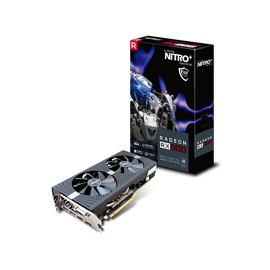 Carte graphique Sapphire Radeon RX 580 Nitro+ 8 Go
