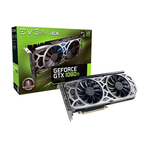Carte graphique EVGA GeForce GTX 1080 Ti SC2 Gaming ICX - 11 Go