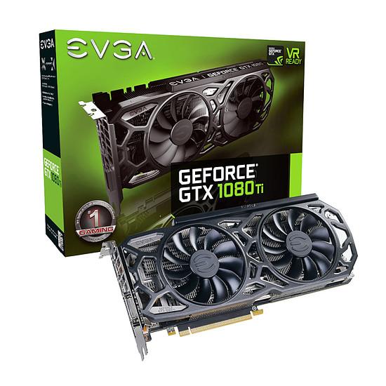 Carte graphique EVGA GeForce GTX 1080 Ti SC Black Edition ICX - 11 Go