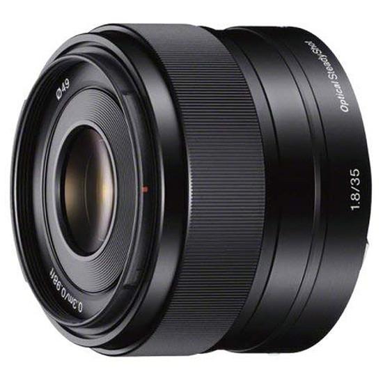 Objectif pour appareil photo Sony SEL 35 mm f/1.8