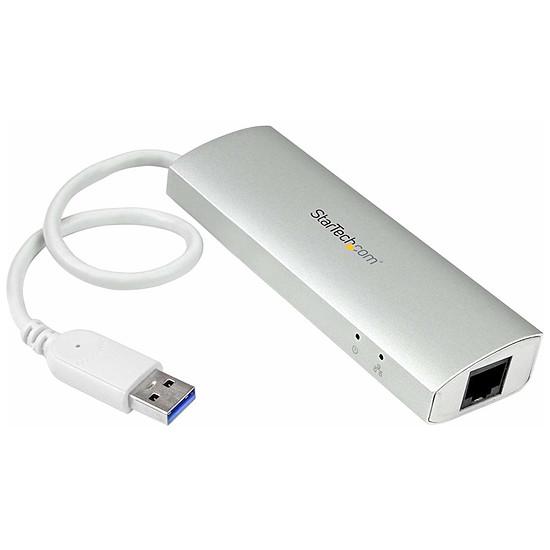 USB StarTech.com Hub USB 3.0 - 3 ports + 1 RJ 45