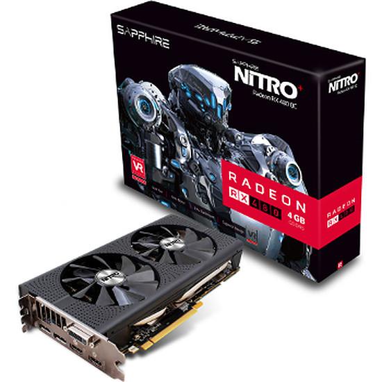 Carte graphique Sapphire Radeon RX 480 Nitro+ Lite - 4 Go