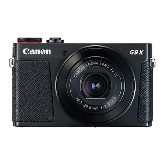 Appareil photo compact ou bridge Canon G9X Mark II Noir + Sacoche + Carte + Batterie