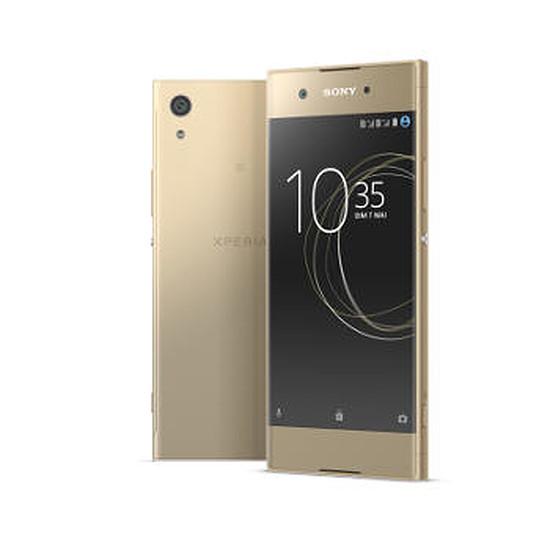 Smartphone et téléphone mobile Sony Xperia XA1 (or) - Double SIM - 32 Go