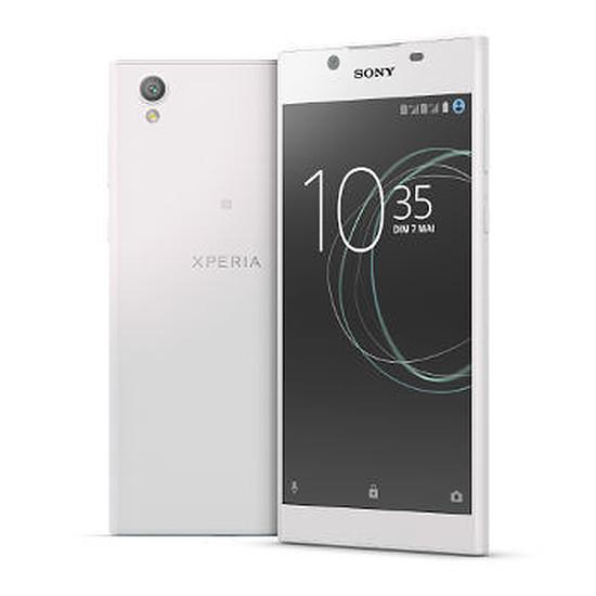 Smartphone et téléphone mobile Sony Xperia L1 (blanc) - Double SIM - 16 Go