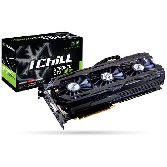 Carte graphique Inno3D GeForce GTX 1080 Ti iChiLL X4 Ultra - 11 Go