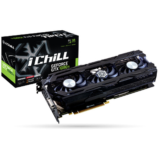 Carte graphique Inno3D GeForce GTX 1080 Ti iChiLL X3 - 11 Go
