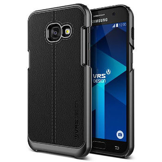 Coque et housse VRS Design Coque (noir) Galaxy A3 2017 + Micro SD 64Go