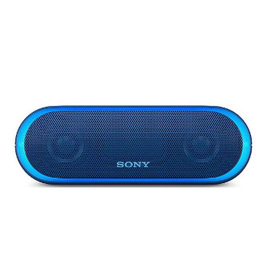 Enceinte Bluetooth Sony SRSXB20 Bleu