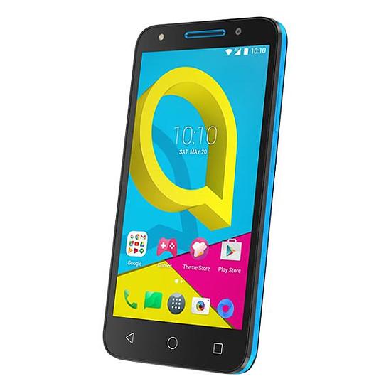 Smartphone et téléphone mobile Alcatel Mobile U5 (noir - bleu) - 4G