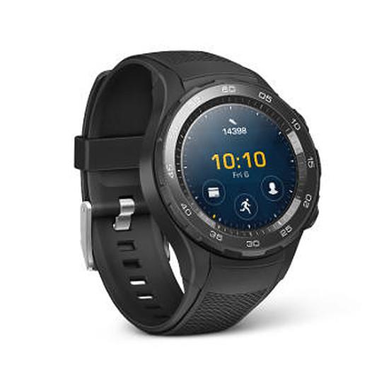 Montre connectée Huawei Watch 2 Sport (noir - noir) - GPS - 45 mm