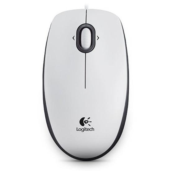 Souris PC Logitech M100 - Blanc - Autre vue